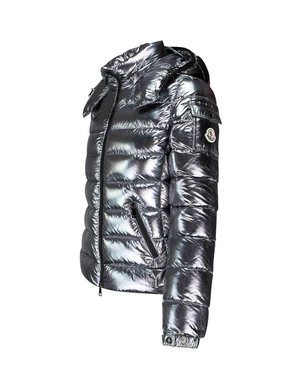 Moncler Women's Giulio Fashion Silver Bady Jacket 4688405C0291910