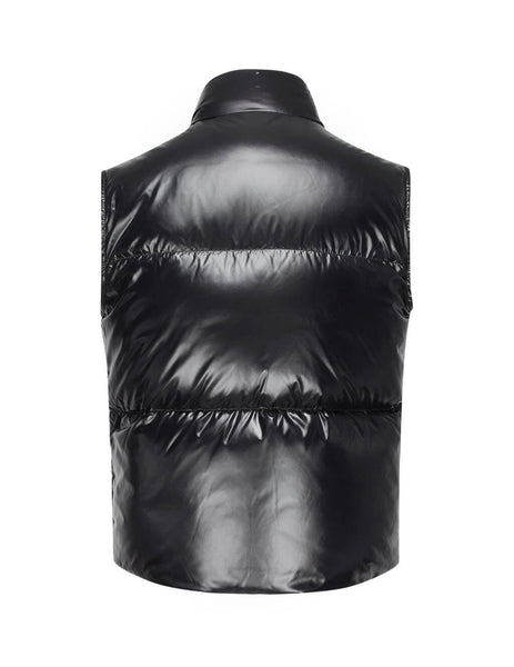 Moncler Men's Giulio Fashion Black Banker Gilet 433720568950999