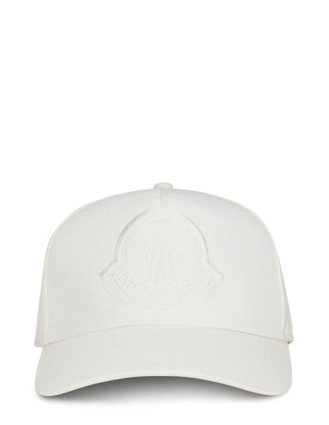Women's Moncler Baseball Cap in White - 0933B73210V0147032