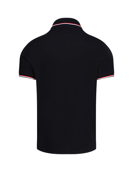 Moncler Men's Giulio Fashion Black Cotton Classic Polo Shirt 834560084556999