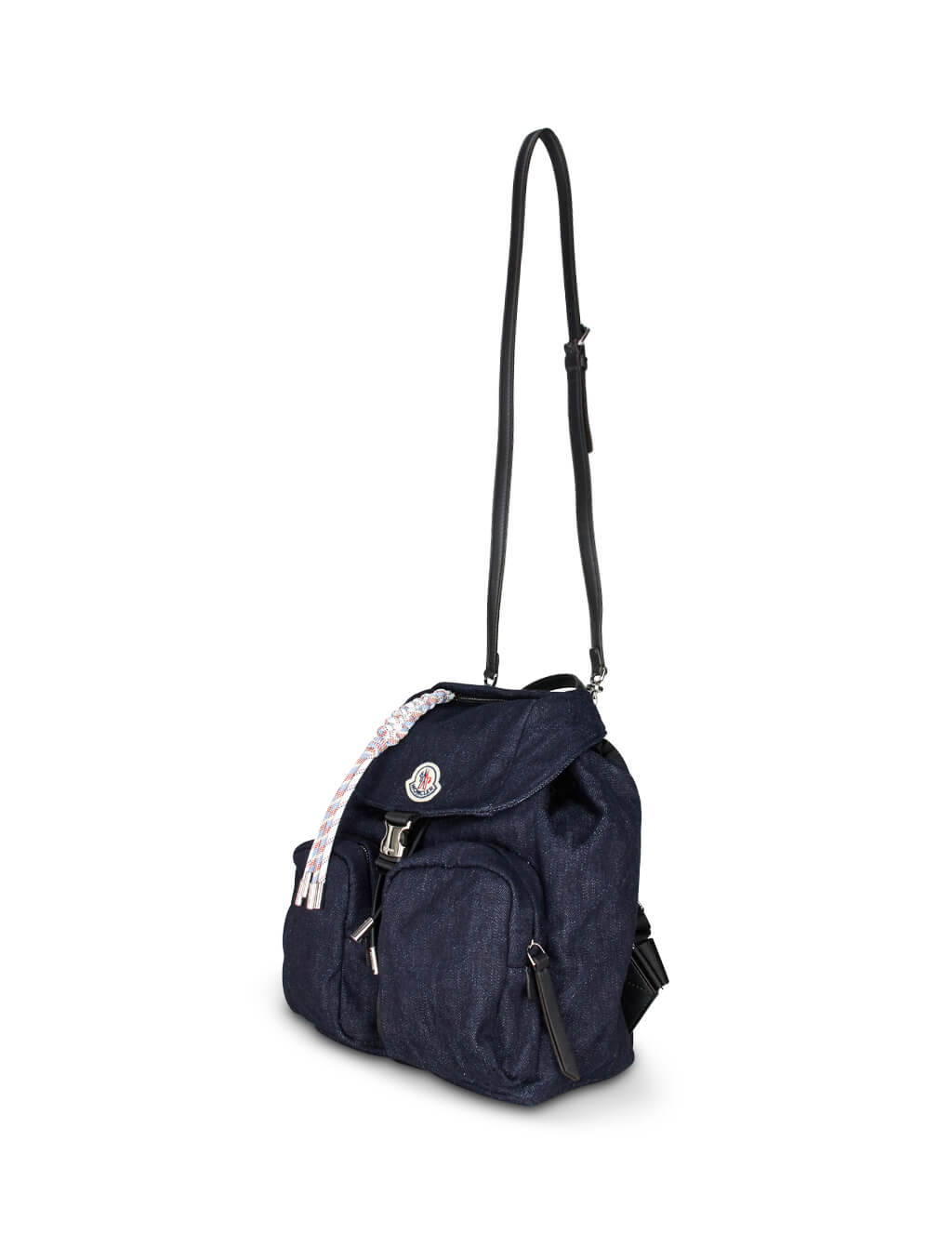 Women's Blue Moncler Dauphine Backpack 09B5A7001002SAA798