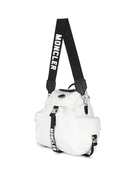 Moncler Women's Giulio Fashion White Dauphine GM Backpack 006730001AKY034