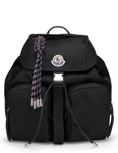 Women's Moncler Dauphine Large Backpack in Black - 09B5A7000002SA9999