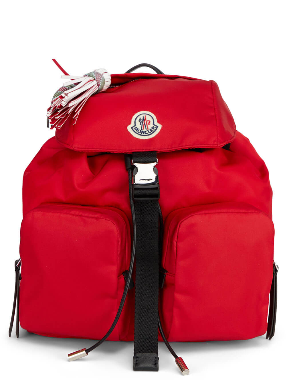 Women's Red Moncler Dauphine Large Backpack. 09B5A7000002SJJ431