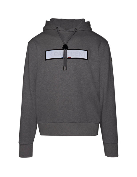 Men's Dark Grey Moncler Department Hoodie 0918G714208098U910