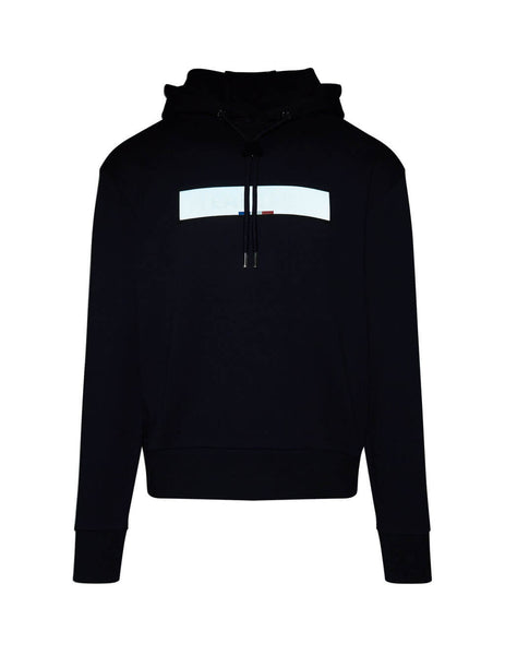 Men's Navy Moncler Department Hoodie 0918G714208098U778