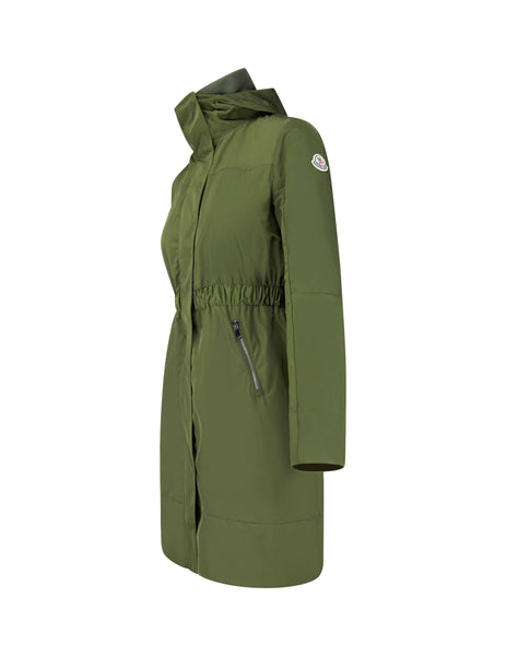 Moncler Women's Giulio Fashion Green Disthelon Parka 490220554543818