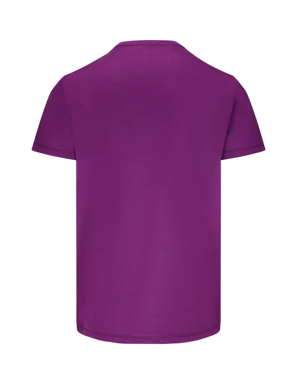 Moncler Men's Giulio Fashion Dark Purple Double Patch T-Shirt 0918C781008390Y670