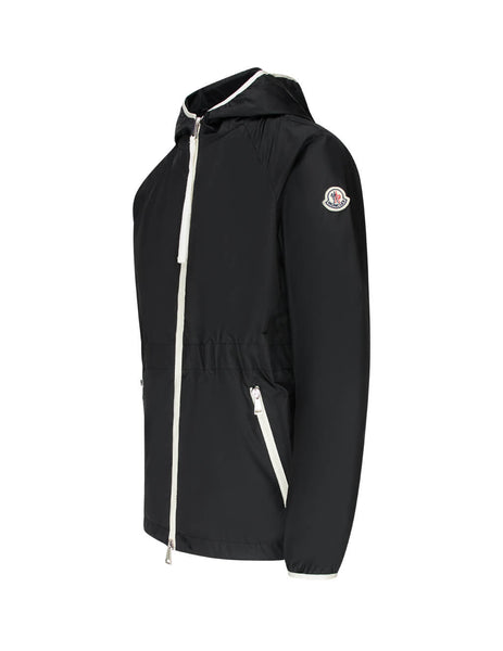 Moncler Women's Giulio Fashion Black Eau Short Parka 0931A74200C0455999
