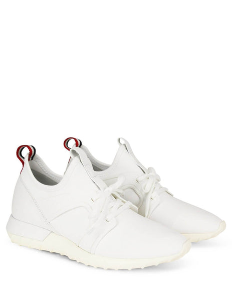 Moncler Men's Giulio Fashion White Emilien Sneakers 1014100019MH001