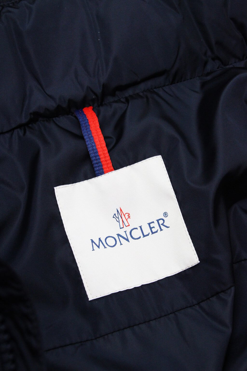 Moncler Men's Giulio Fashion Navy Goulier Windbreaker Jacket 416390554155743