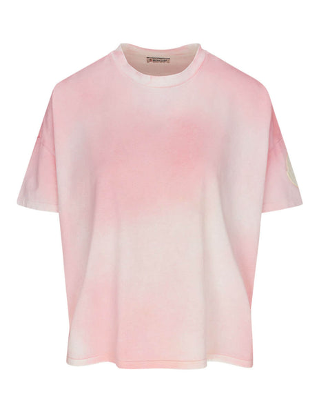 Moncler Women's Giulio Fashion Light Pink Gradient T-Shirt 0938C74110V8125500