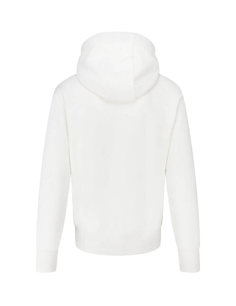Men's Moncler Heritage Hoodie in Natural White. 0918G7461080985034