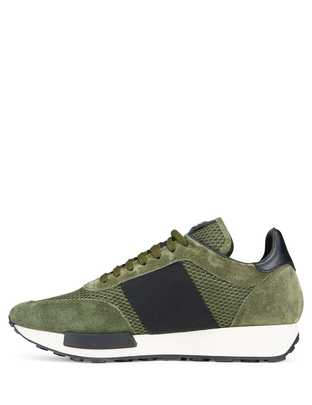 Moncler Men's Giulio Fashion Green Horace Sneakers 101910001A9H833