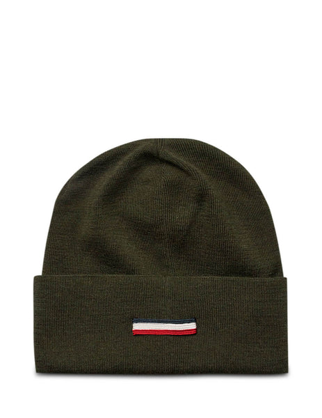 Moncler Men's Giuio Fashion Dark Green Knitted Beanie 0919Z73600A9526886