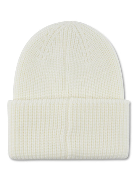 Moncler Women's Giulio Fashion Ivory Wool Knitted Beanie 9963200A9122034