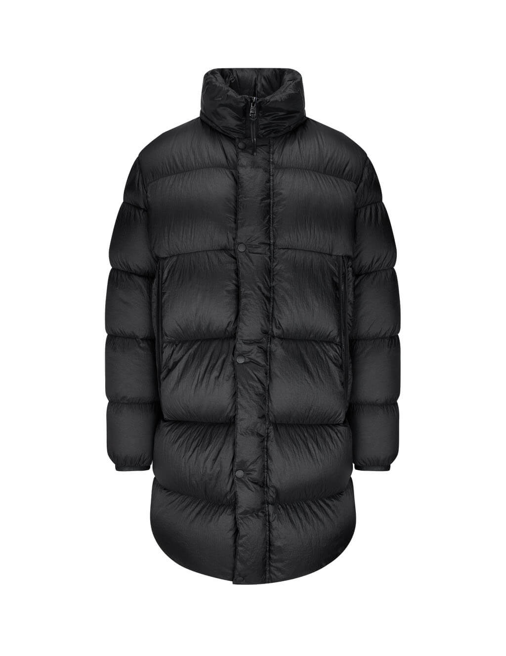 Men's Moncler Lechaud Long Parka Coat in Black. 0911C50960C0611999