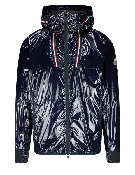 Men's Moncler Marly Jacket in Navy Blue - 0911B7470053A5T778