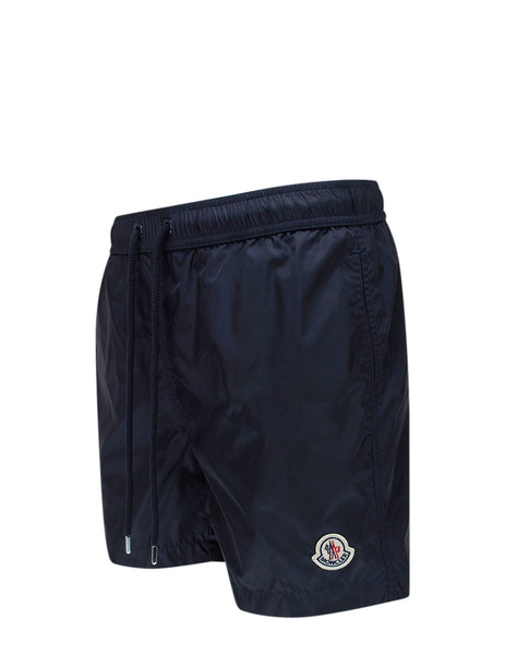 Moncler Men's Giulio Fashion Navy Mini Swim Shorts 0912C7080053326743