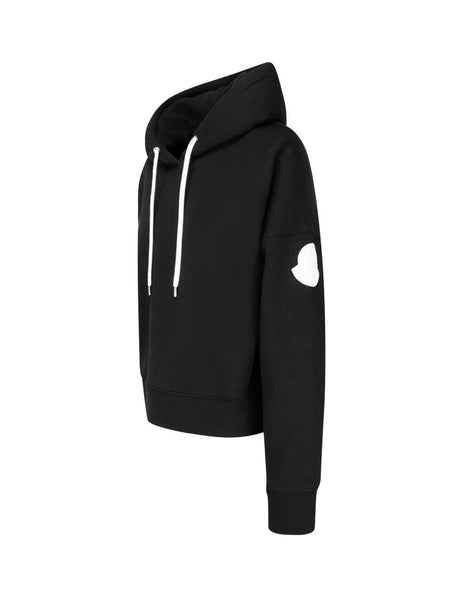 Moncler Women's Giulio Fashion Black Monochrome Hoodie 0938G75210V8186999