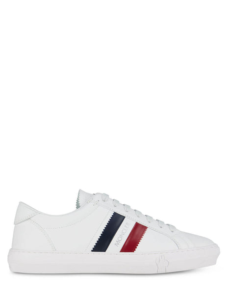 Men's Moncler New Monaco Sneakers in White - 09A4M7144001A9A002