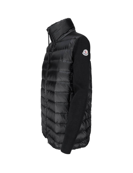 Moncler Women's Giulio Fashion Black Padded Cardigan 0939B51200A9018999