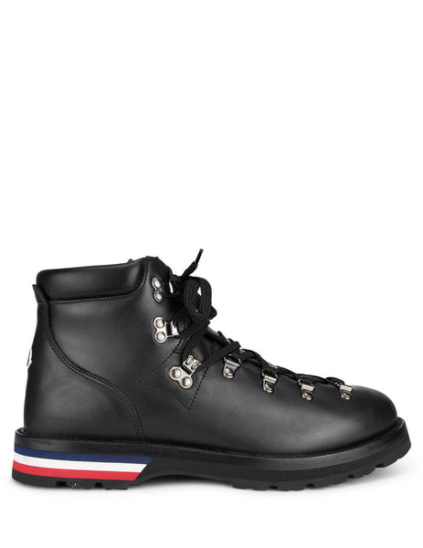 Moncler Men's Black Peak Hiking Boots 09A4G7000002SGR998