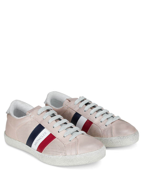 Moncler Women's Giulio Fashion Pink Ryegrass Shoes 09B4M7134002S8N510