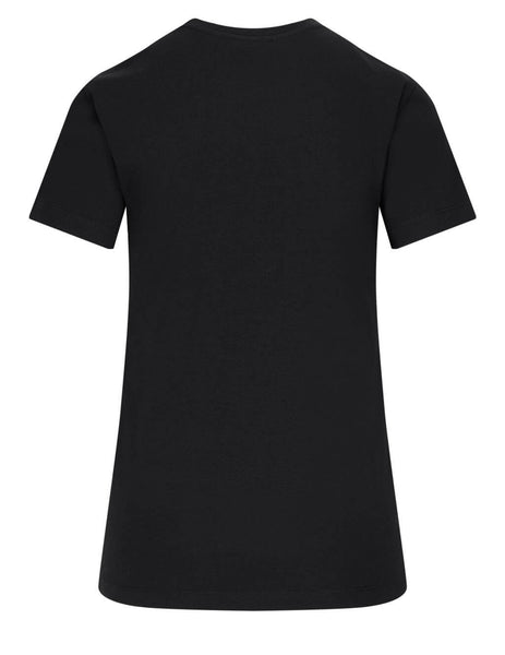 Women's Moncler Signature T-Shirt in Black - 0938C7A610829FB999