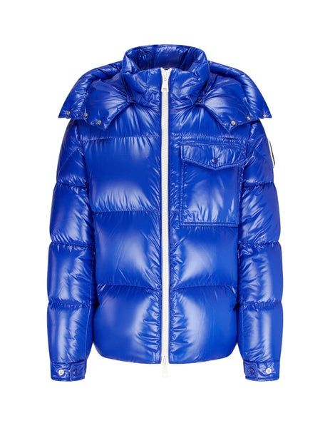 Moncler Men's Medium Blue Vignemale Jacket 0911B580006895073L