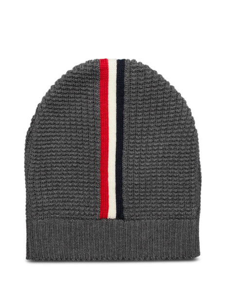 Moncler Men's Giulio Fashion Charcoal Waffle Knit Beanie0919Z71200A9364998