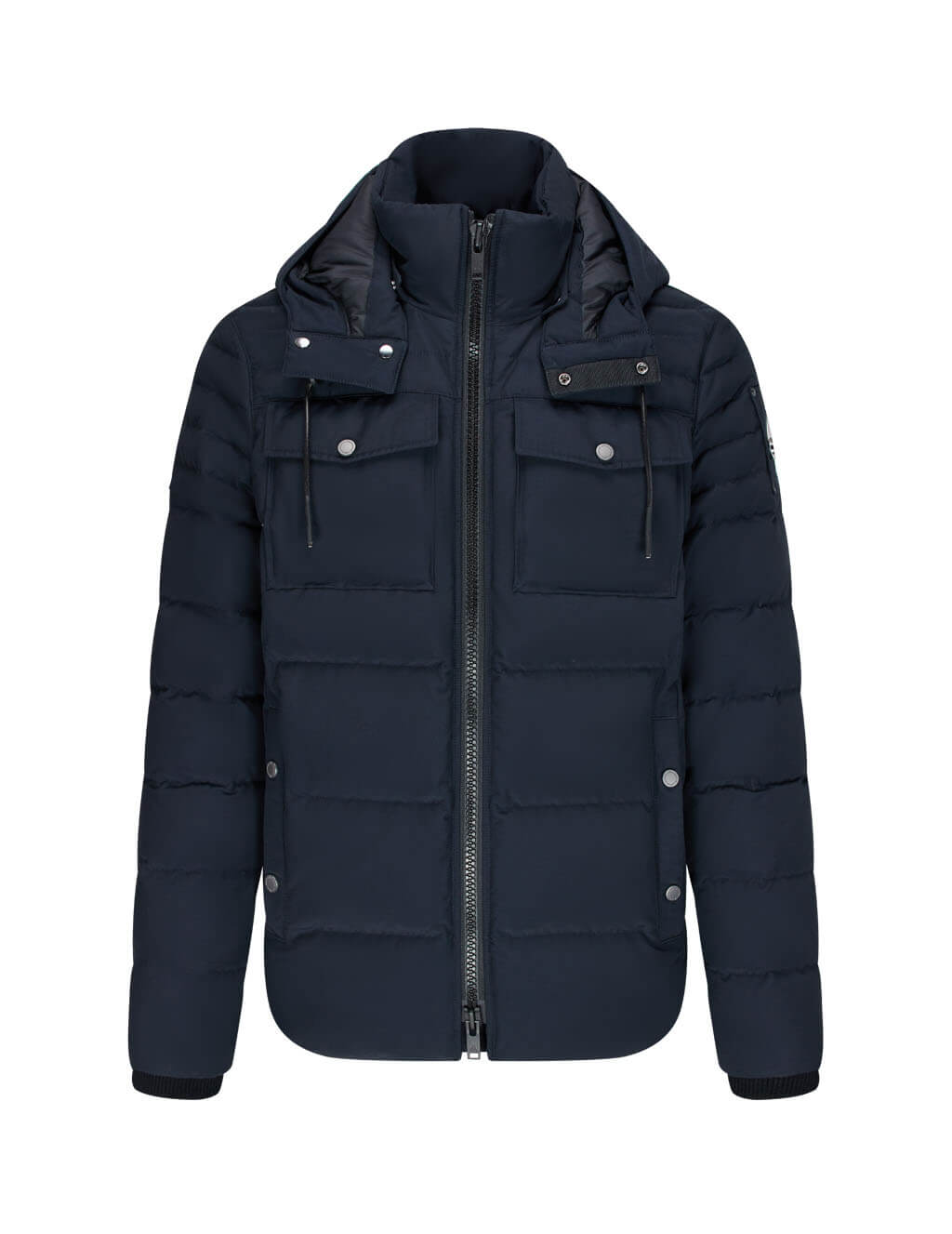 Men's Moose Knuckles Lambton Jacket in Navy - M30MJ176N 833