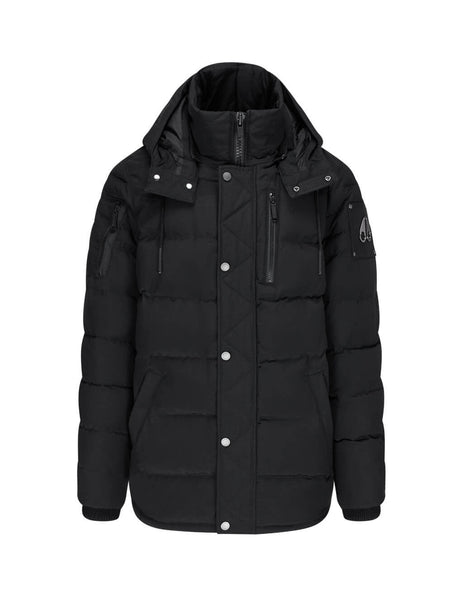 Men's Moose Knuckles Sunnyside Jacket in Black - M30MJ171N 292
