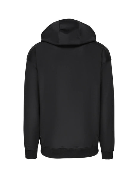 Moschino Men's Couture Lamé Logo Hooded Sweatshirt A170320291555