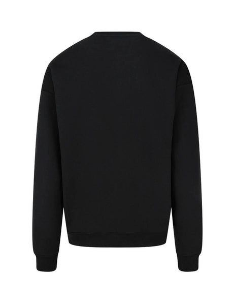 Men's Black Moschino Double Question Mark Sweatshirt A170470271555