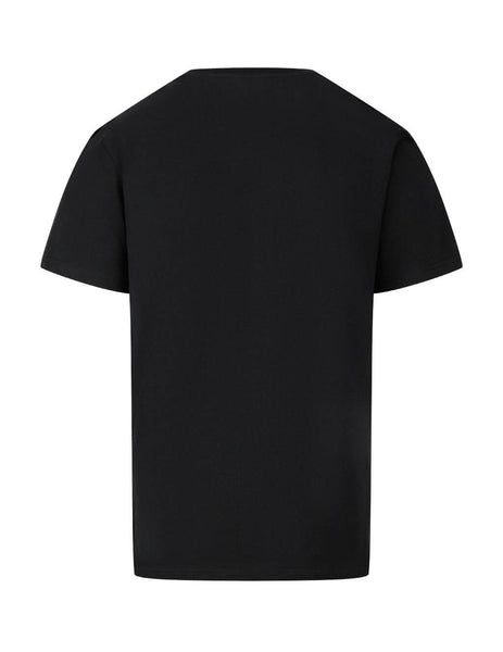 Men's Black Moschino Double Question Mark T-Shirt J070670401555