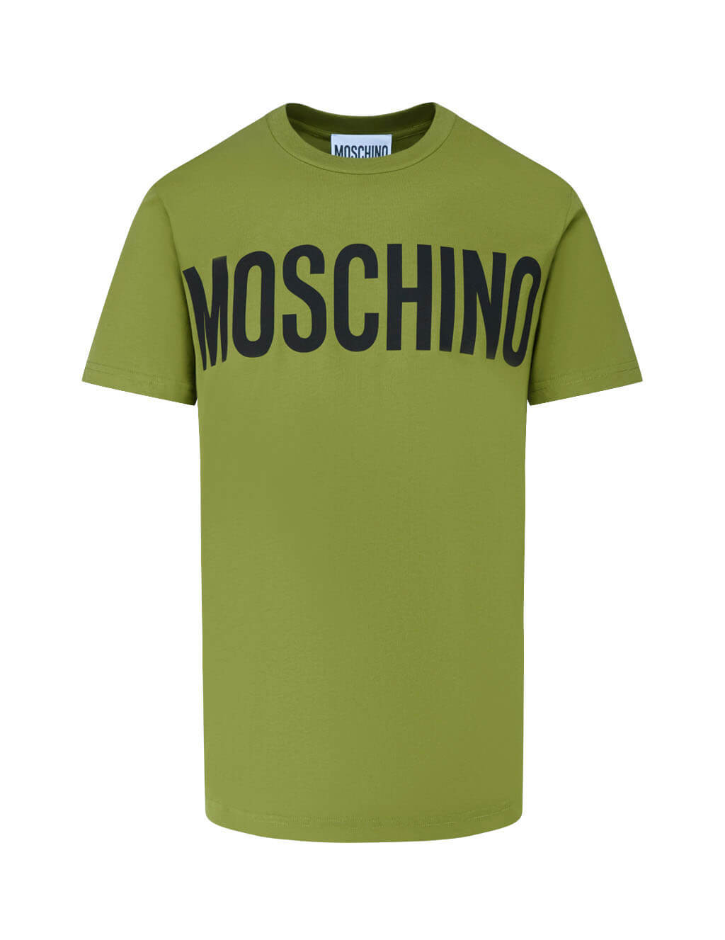 Men's Green Moschino Classic Logo T-Shirt J070570401413