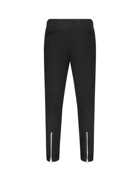 Neil Barrett Men's Giulio Fashion Black Tapered Trousers PBPA799-P009 01