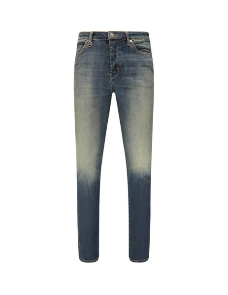 Neuw Denim Men's Giulio Fashion Blue Iggy Skinny Harajuku Air Wash Jeans N3206332L