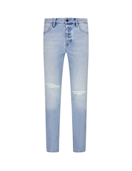 Men's Neuw Denim Iggy Skinny Jeans in Lights Out Blue. 33567B-5396
