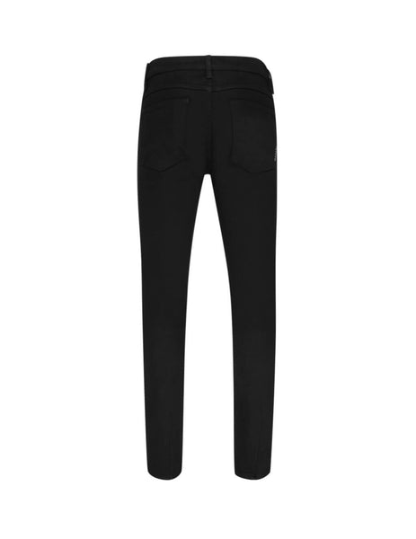 mens neuw denim iggy skinny perfecto jeans in perfecto black N32284