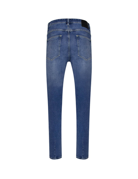 Men's Axel Blue Neuw Denim Rebel Skinny Jeans N33272-4503