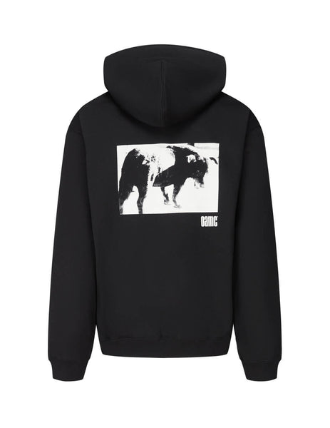 Men's Black OAMC Daido Moriyama Hoodie OAMR706782OR243708A001