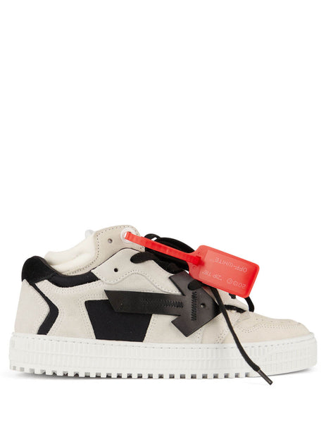 Off-White Women's Giulio Fashion White and Black 4.0 Sneakers OWIA181F19D800770210