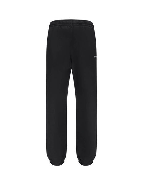 Men's Off-White Caravaggio Painting Arrows Sweatpants in Black OMCH029E20FLE0091010