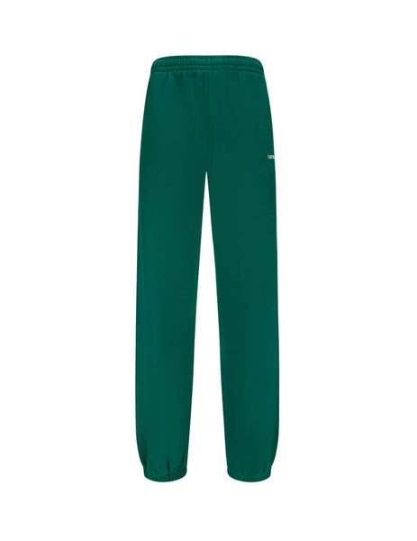 Men's Off-White Caravaggio Painting Arrows Sweatpants in Dark Green OMCH029E20FLE0095710