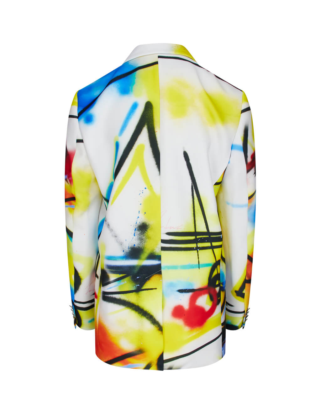 Off-White Women's White Futura Tomboy Jacket OWEF032R20D951079988