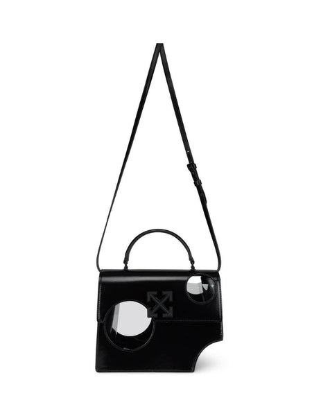 Women's Black Off-White Meteor Shower 2.8 Jitney Bag OWNA113S20LEA0011000