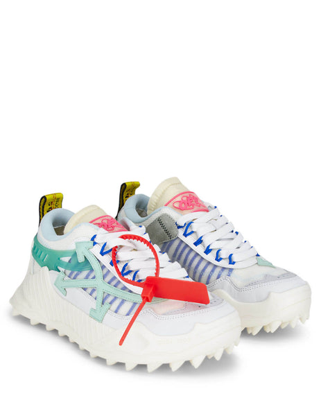 Off-White Women's White Odsy-1000 Sneakers OWIA180R208001100133