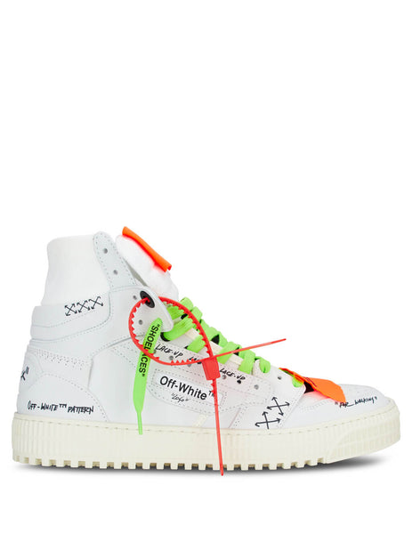 "Off-White Men's White ""Off-Court"" 3.0 Sneakers OMIA065R20G930010100"